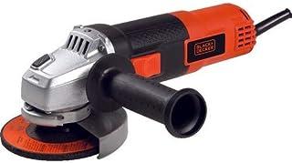 Black+Decker 820W 115mm 12,000 RPM Small Angle Grinder , Orange/Black - KG8215-B5, 2 Years Warranty