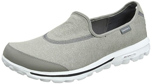 Skechers Damen Go Walk Slipper, Grau (GRY), 41 EU