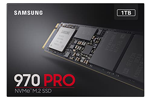 Samsung Memorie MZ-V7P1T0 970 PRO SSD Interno da 1TB, Pcle NVMe M.2