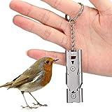 Fischietto da addestramento per uccelli, metallo Fischietto da addestramento per uccelli Torna a Casetta per uccelli Accessorio per pappagallo Piccione Comportamento Obbedienza Silenzio Richiama strum