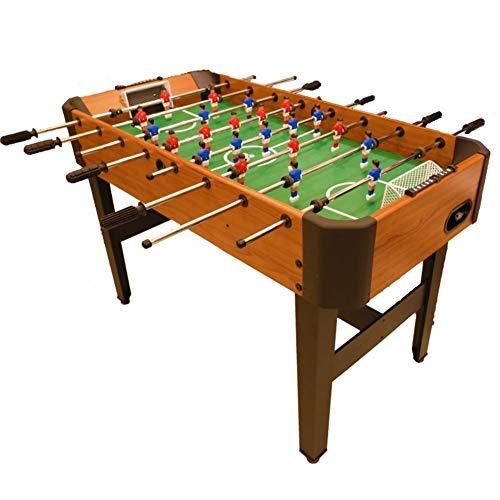 softneco Professionelle Tischkicker Tisch Mit 8 Griffen,Holz Kickertisch Für Kinder Und Erwachsene,Tischfußball Spiel Für Home Party Freizeit A 120 * 61 * 81cm