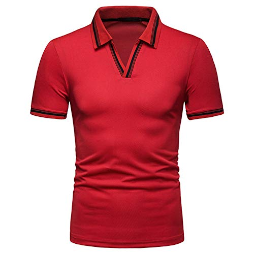 Mr.BaoLong&Miss.GO Nuevos Hombres Polo Camisa Verano Mod