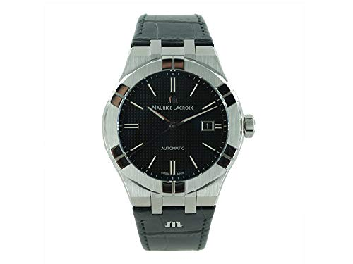 Reloj Automático Maurice Lacroix Aikon Gents, 42 mm, Negro, AI6008-SS001-330-1