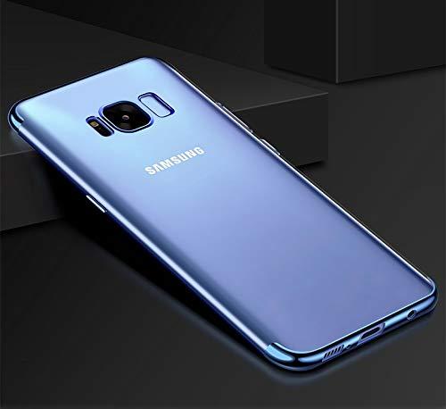 RZL Teléfono móvil Fundas Caso de la Cubierta Ultra Fina para Samsung Galaxy A3 A5 J3 J5 J7 2016 2017 S8 Plus S7 S6 S5 Edge Gran Primer Chapado de Silicona Casos Silm