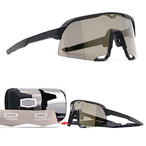 CYYS Gafas de Sol Deportivas, Gafas de Sol polarizadas para Hombres, Gafas de Sol Ligeras, adecuadas para Deportes al Aire Libre, Ciclismo y conducción
