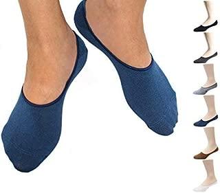 Thirty48 Men No Show Socks, Loafer Socks Boat Shoe Socks Liner Socks with CoolPlus, Non-Slip Grip