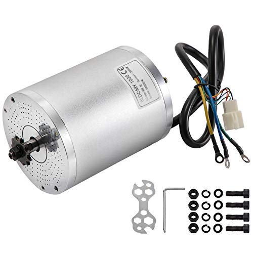 BOMA 3000W 72V BLDC electric motor w Base BM1024 w 70A controller GoKart Scooter