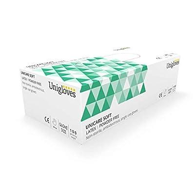 Unigloves UCLPF1204 Large Latex Powder Free Gloves (Box of 100)