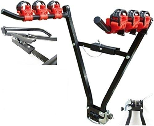 Hyfive Nueva Bicicleta PORTABICICLETAS Universal Auto Rack para 3 Bicicletas Bicicletas