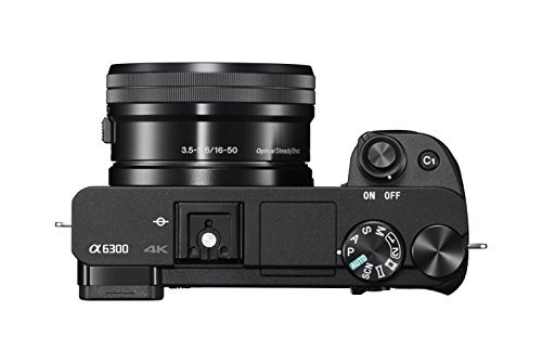 Sony Alpha a6300 Mirrorless Digital Camera with E PZ 16-50mm F3.5-5.6 OSS Power Zoom...