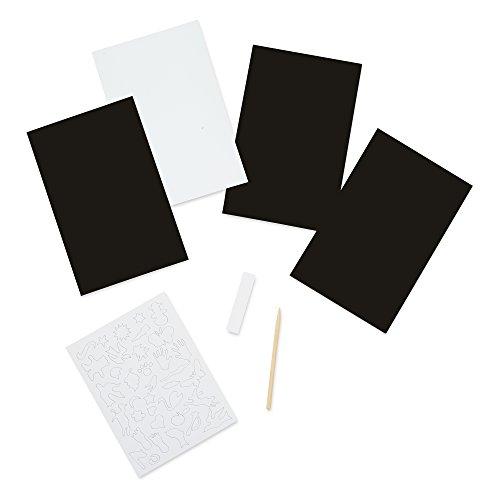 Melissa & Doug Scratch Art Sheets: Combo Pack