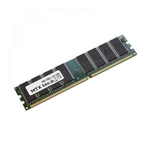 MTXtec 1GB, 1024MB Arbeitsspeicher DIMM DDR1 PC2700 333MHz 184 pin