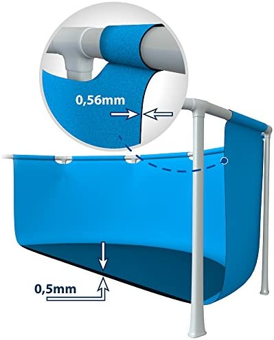Intex 28271NP Small Frame - Piscina desmontable, 260 x 160 x 65 cm, 2.282 litros 4