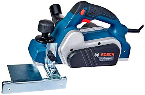 Bosch 06015A40E0-000, Plaina GHO 16-82 D 220V, Azul