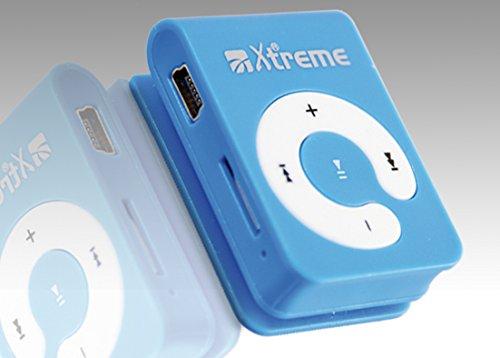 Xtreme 27633B Lettore File Audio con Memory 8 GB, Auricolari e Cavo Mini USB