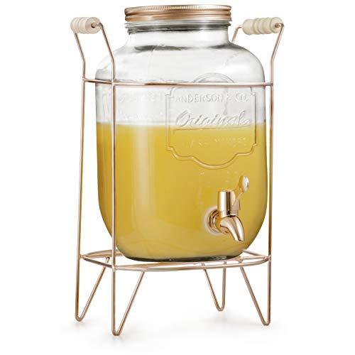 Suqueira 4 L Mimo Style Transparente/Bronze