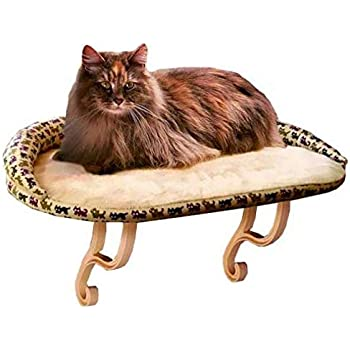 """K&H PET PRODUCTS KH Kitty Sill Deluxe with Bolster (14"""" x 24"""")"""