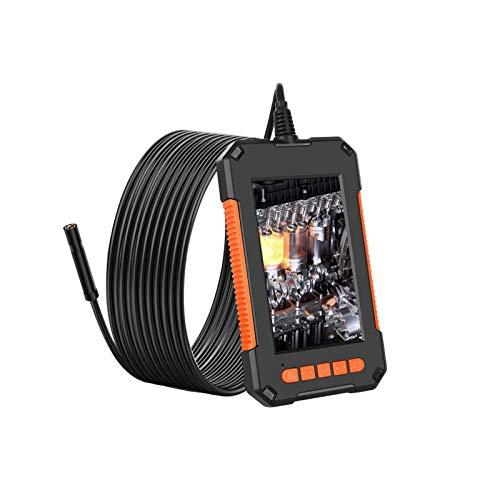 4.3 '' Pantalla 1080P HD Endoscopio industrial de 8 mm Cámara de inspección IP67 Pantalla IPS impermeable a prueba de agua 180 Cámara de serpiente de ángulo de visión ancha para teléfono