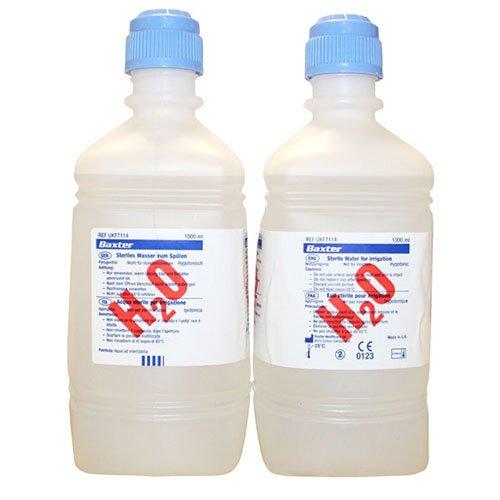 Baxter Steriles Wasser UKF7114, 1 Liter