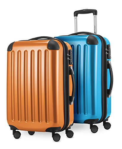 Hauptstadtkoffer, Valise Mixte, Orange-Cyanblau (Multicolore) - 58942092
