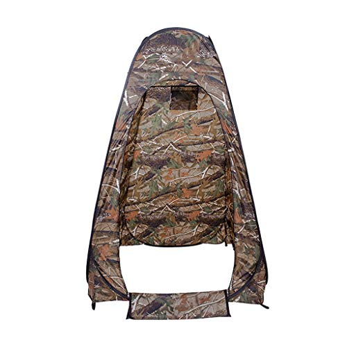 HUIYAN Camping Tents, Single Outdoor Camouflage Tent | Outdoor Personal Bathing Tents, Mobile Toilets Easy