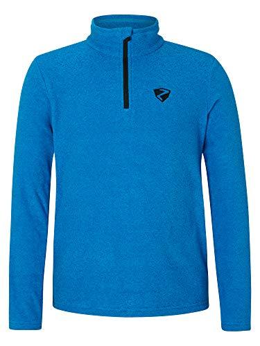 Ziener Kinder Jamil Junior Skipullover, Skirolli, Funktions-Shirt   Langarm, Atmungsaktiv, Persian Blue, 164