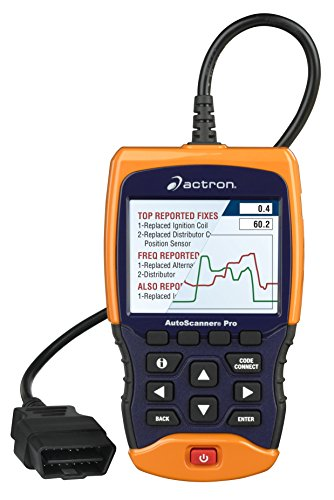 Actron CP9695 AutoScanner Pro OBD II Scan Tool for All 1996 and Newer and Select 1994-95 Vehicles - Includes Enhanced Drivetrain, ABS, and SRS Coverage, CodeConnect, and More