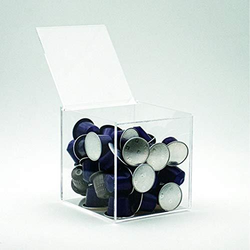 Cubo Portacapsule Caffè, Caramelle, Bustine di Zucchero art.2300 - confezione da 2 PEZZI
