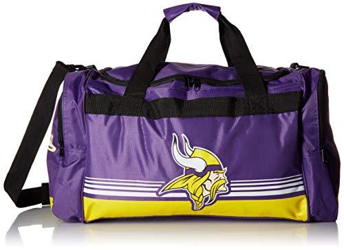Minnesota Vikings Medium Striped Core Duffle Bag