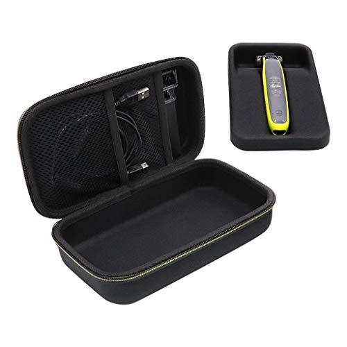 JSxhisxnuid pour Sac de Voyage en EVA Phi-Lips QP150 / QP6520 / QP6510 Shaver, Sac de Rangement pour Rasoir électrique, Portable Anti Choc Anti-Perdu Protection Etui