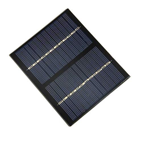 Heaviesk 12 V 1,5 Watt Universal Solar Panel Polykristallines Silizium DIY Batterie Lademodul Kleine Solarzelle