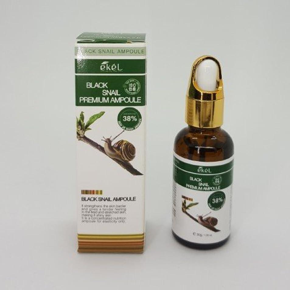 扱いやすい忠実な学校教育[EKEL] Black Snail Premium Ampoule 38% - 30g