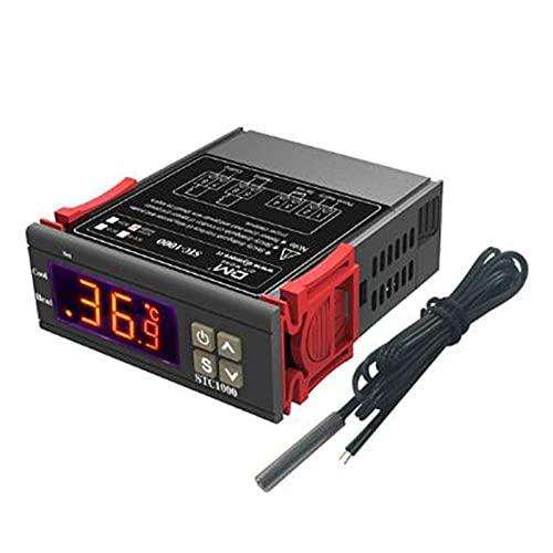 SHT2000 Pantalla Digital Inteligente Temperatura y Controlador de Humedad para incubadora Dos Relé Salida Termorgulator Relé Calefacción de refrigeración 110-220V
