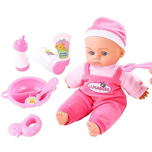 Bambole Reborn Bambina Bambolotti Dolls Giocattoli Bambini Regalo Ragazze Ragazzi 3 4 5 Anni