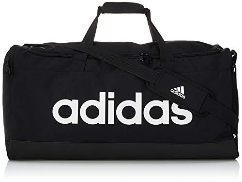 Adidas GN2044 LINEAR DUBEL L Sport-Rucksack Unisex - Erwachsene schwarz/weiß NS