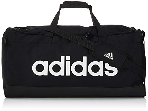 Adidas GN2044 LINEAR DUFFEL L Sports Backpack Unisex - Adult black/white NS