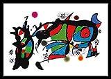 Joan Miro Obra de Joan Miro Poster Kunstdruck mit Alu