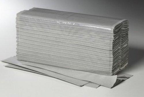 Papier-Falthandtücher / Falthandtücher / Papiertücher /Papierhandtücher / Zick-Zack-Faltung / 5.000 Blatt / naturfarben / 25 x 23 cm