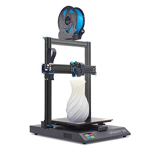 Artillery Sidewinder X1 3D Printer, 2019 Newest Version Lattice Glass Heat Bed Aluminum Extrusion Frame Filament Run Out Sensor Power Failure Recovery Quiet 3D Printing, 300x300x400mm