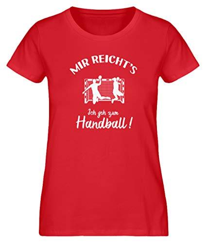 Handballer: Ich GEH zum Handball! - Damen Premium Organic Shirt -S-Rot