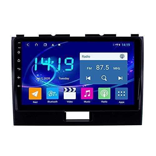 yanzz Autoradio Stereo Adatto per Suzuki Wagon R 2010-2018 in Dash 9 Pollici Navigatore GPS unità Principale Supporto USB SD Dab RDS Video Bluetooth WiFi SWC Mirror Link Telecamera di Backup 4 GB