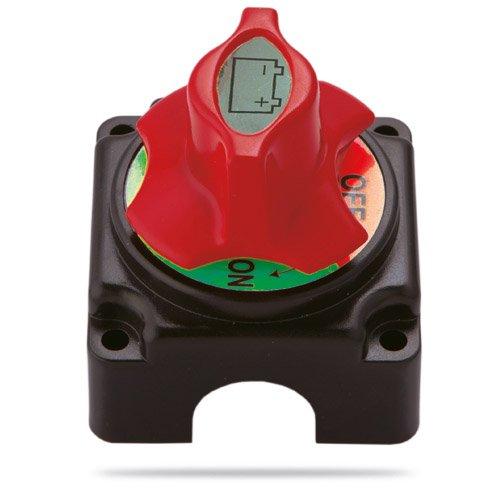 Batterieumschalter Aufbau 71,5 x 71,5 mm