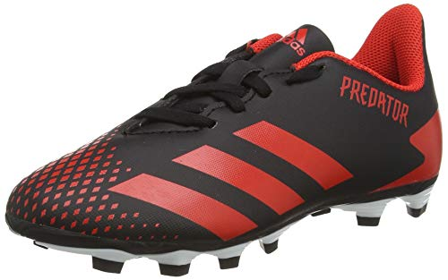 adidas Unisex Predator 20.4 Fxg J Fußballschuh, schwarz, 32 EU