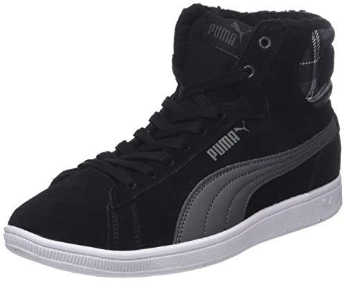 Puma Damen Vikky MID WTR Hohe Sneaker, Schwarz Black-Iron Gate 01, 36 EU