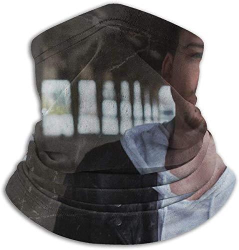 Cache-cou en microfibre unisexe Morgan Wallen Outlet Polaire élastique Face Bandana Cover pour Snowboard Sports d'hiver Noir