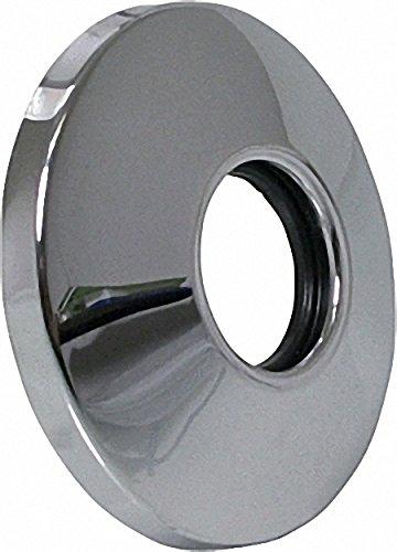 TECO Schubrosette für UP-Ventil verchromt 70mm Durchmesser