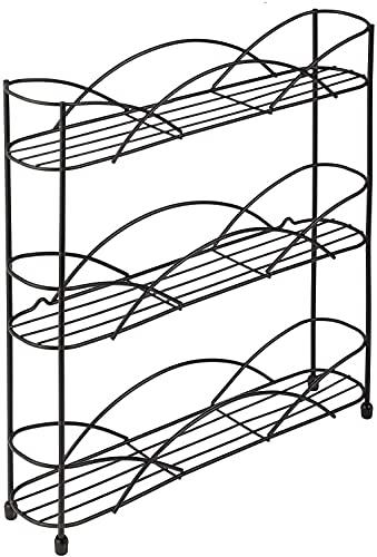 Stafeny Estante De Especias Multifuncional Tres Capas Capacidad Almacenamiento Estantes Familiares Grandes Organización Almacenamiento Cocina Gran Capacidad