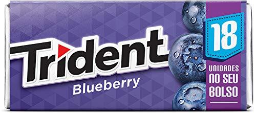 Goma de Mascar Blueberry 18S Trident 30,6g