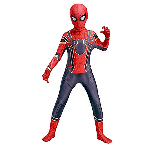 YongEnShang Halloween Superhero Bodysuit Cosplay Costumes for Kids(GTZZX,130)