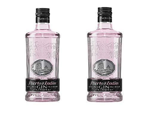 PROMO - Pack 2 botellas Gin Puerto de Indias Strawberry 70 cl
